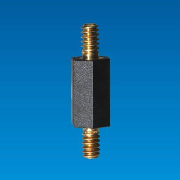 Hexagonal Spacer Support with Metal Screw - Hexagonal Spacer THT-6U12