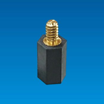 Hexagonal Spacer Support with Metal Screw - Hexagonal Spacer THU6-712F