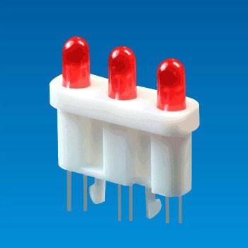 LED Housing Ø3,2 pin (3LED-3M)