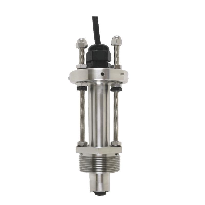 Sensor de flujo paddelwheel de acero sin manchas