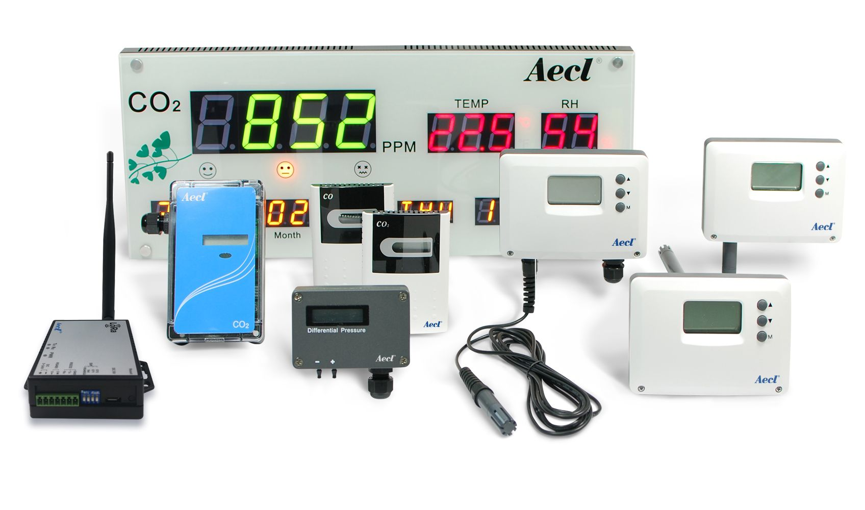 Devices for environmental monitoring and control