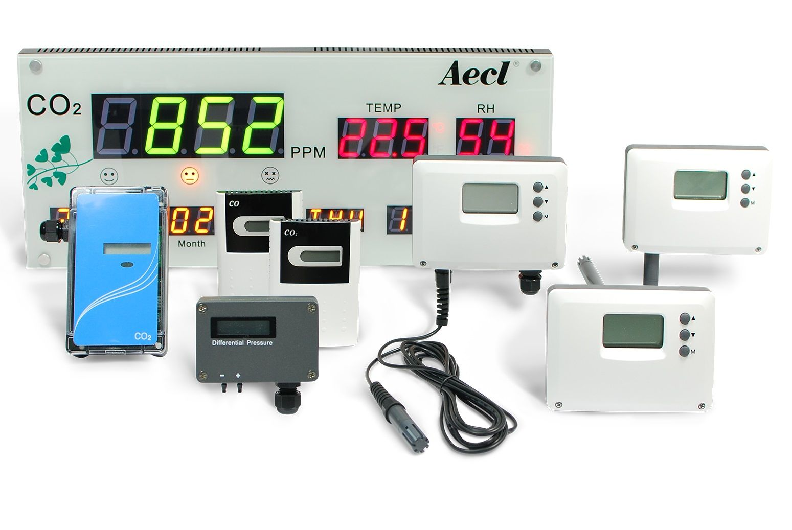 Devices for indoor air quality monitoring and control