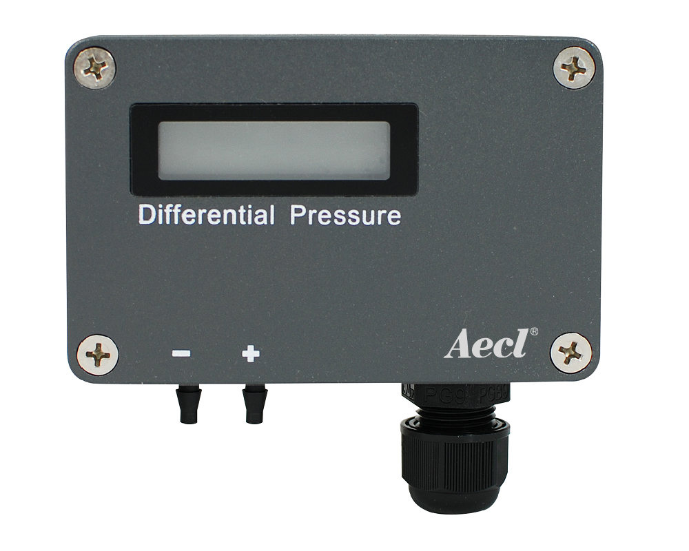 pemancar tekanan diferensial pemasangan di dinding