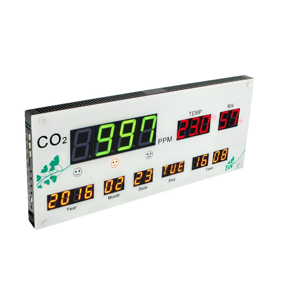 室內空氣品質及溫溼度多功能顯示板