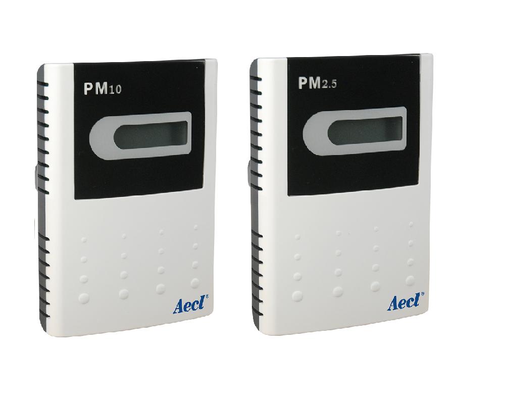 wireless PM2.5 and PM10 sensors