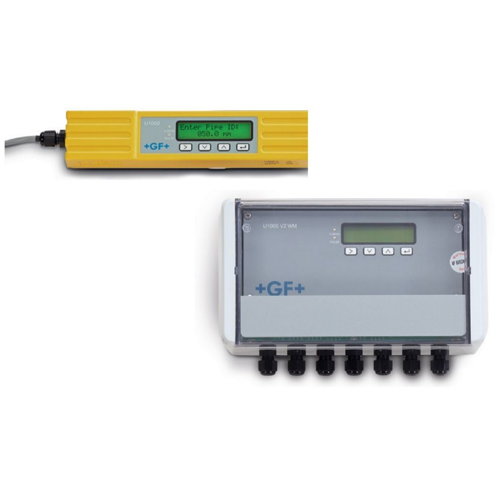 +GF+SIGNET Ultrasonic flow sensors