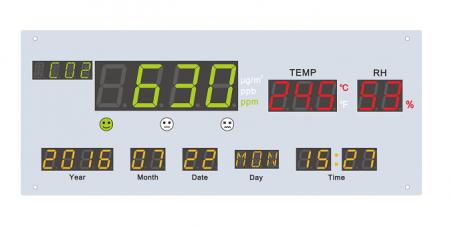 四合一空氣品質顯示板