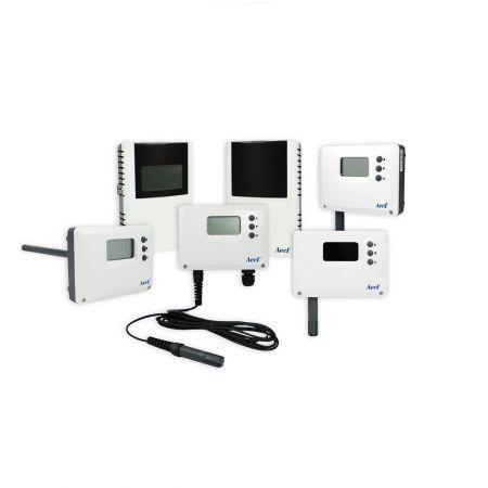 Transmissor de temperatura / umidade / ponto de orvalho - sensor de temperatura e umidade