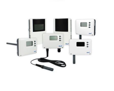 Transmissores de temperatura e umidade LoRa - Temperatura LoRa e transmissor de UR