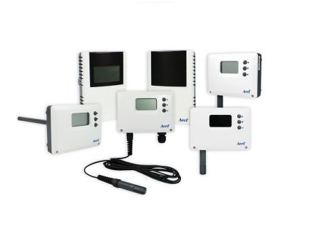 Temperature / humidity / dew point transmitter and switch - Temperature / RH / dew point sensor and controller
