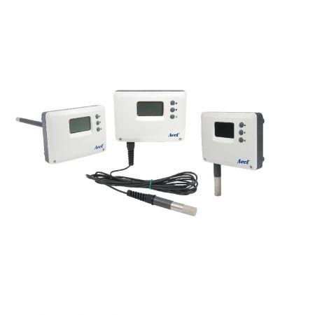 Transmissor de temperatura e umidade para ambiente de alta umidade - Sensor de temperatura e umidade para ambiente de alta umidade