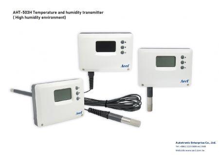 Transmissor de temperatura e umidade para ambientes com alta umidade - Transmissor de temperatura e umidade para ambientes com alta umidade