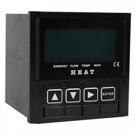 Medidor BTU - Medidor BTU com pulso, relé e sinal de saída de coletor aberto