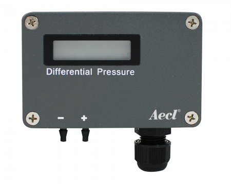 Differential pressure transmitter - wall mount differential pressure transmitter