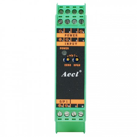 Convertidor de señal DC (tipo delgado)
