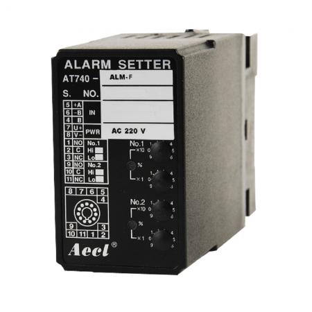 Frequency Limit Alarm - Frequency limit alarm