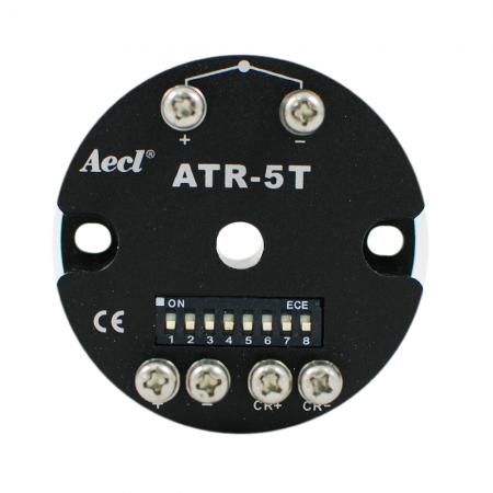 Transmissor de temperatura isolado de dois fios (termopar / sensor Pt)