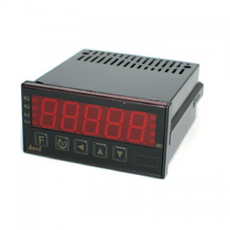 """5 Digital (0.8"""" LED) Micro-Process RPM/Line-Speed/Frequency Meter"""