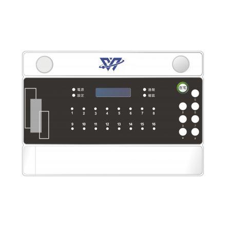 Sistema de segurança e software - Painel de controle de segurança