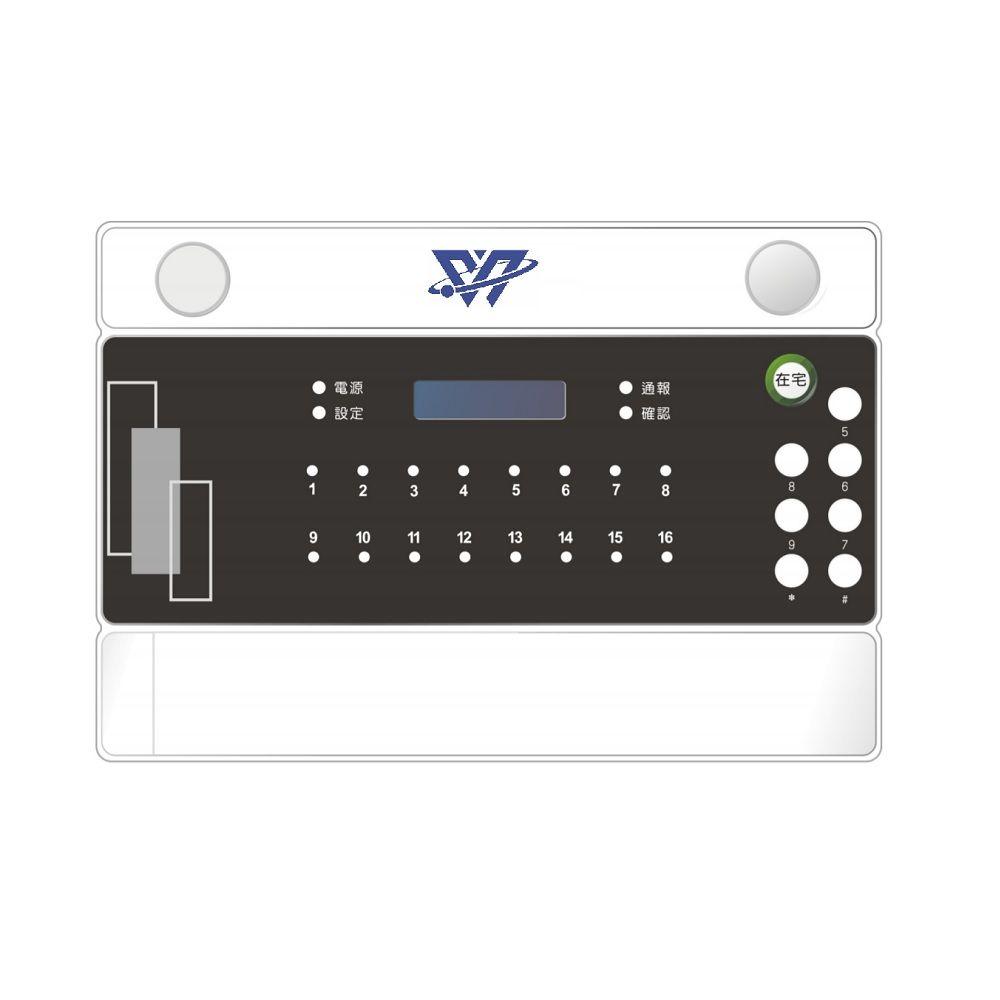 Security control panel