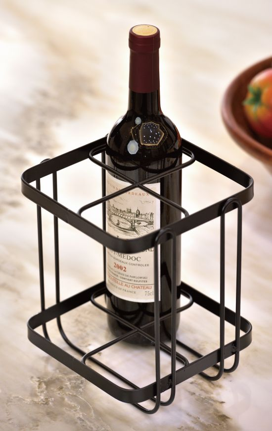 Suitable for many types of décor, these racks feature an elegant powdered coated steel with a beautiful finish