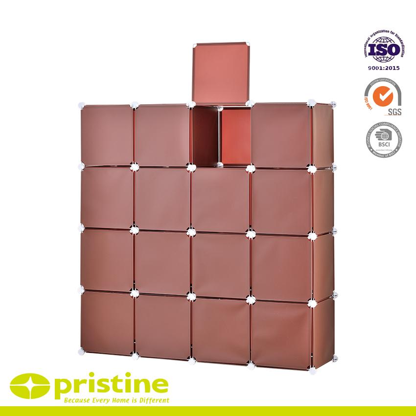 DIY Storage Cube Organizer Closet 16-Cube with door Supply
