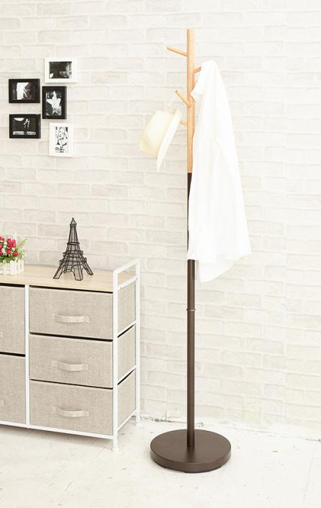Furniture Series - This standing coat stand is designed to be resistant enough to handle your entire family's coats and jackets