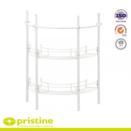 3 Tier Shelves Rack Storage Metal - Under basin storage