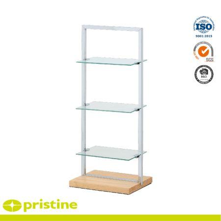 3-Tier Glass Shelf