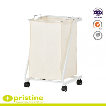 Laundry Cart with Removable Bag - Laundry Sorter Cart
