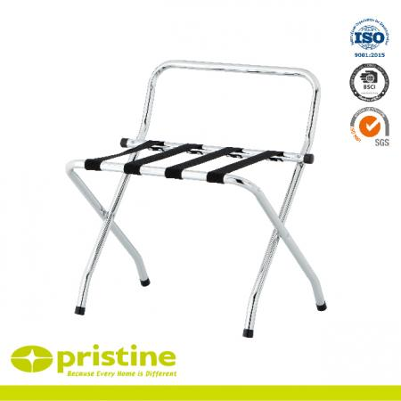 Portable Metal Folding Luggage Rack Stand - Easy to fold and put away and ery stable