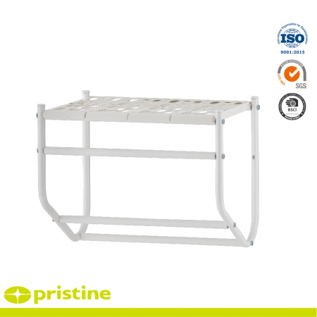 Wall Mounted Towel Rack with PP shelf