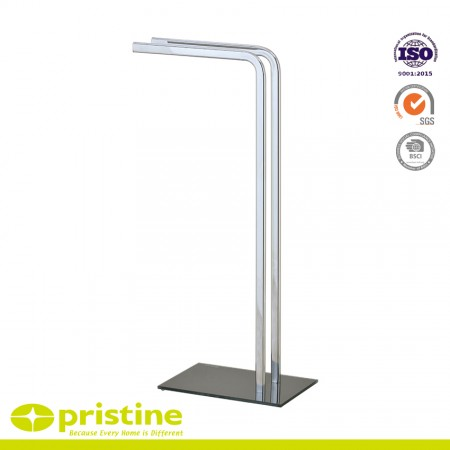 2 Rails Towel Stand - 2 rails towel stand