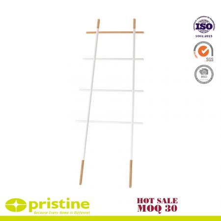 Free Standing Bath Towel Rack Storage Ladder - Towel ladder shelf