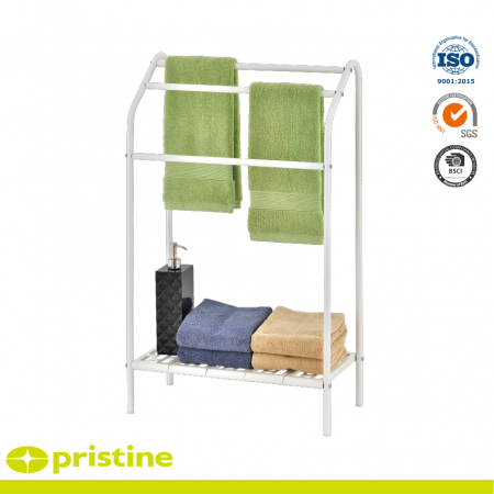 Towel Stand with PP Shelf