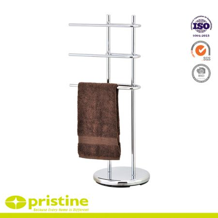 Multifunctional Standing Storage Shelves for Washing Machine - U style towel holder holds up to 3 towels for you