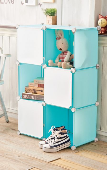 Cube Storage - You can assemble this item into different styles to satisfy your various storage needs