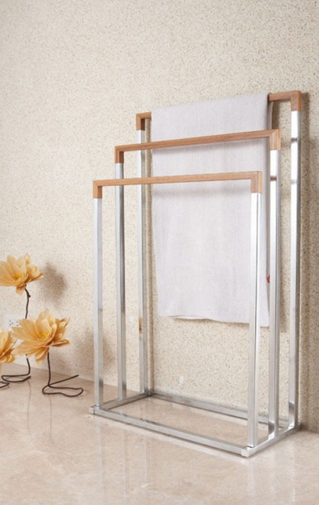Free Standing Towel Rack & Rail - Make an alluring addition to any home décor