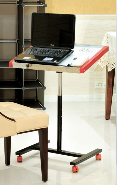 Laptop Desk Cart - Designed to fit nearly any laptop, tablet or portable computer