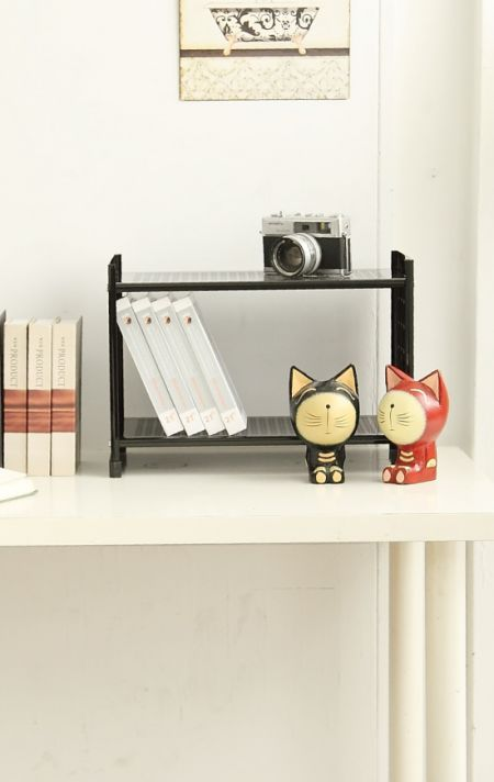 Office Accessory - With the extra space under the stand, you can store your keyboard, stapler, notepads, and much more!