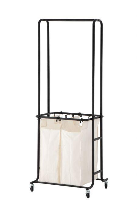 Laundry Sorter with Hanger Bar