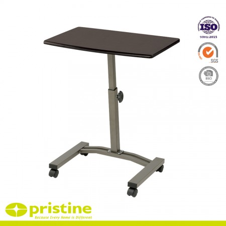 Sturdy and adjustable-Table top can be raised or lowered to meet your needs