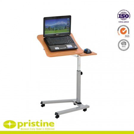 This mobile computer table can be used in the home, office or school