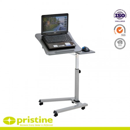 Lift and lower the height of the desk for sitting or standing use