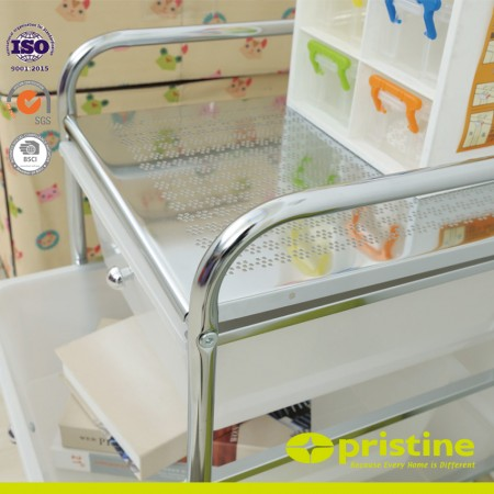 Organizer cart with 4 drawers