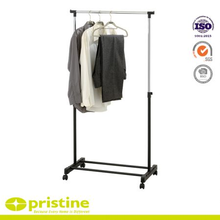 Single Pole Clothes Rail - Hanging clothes rack