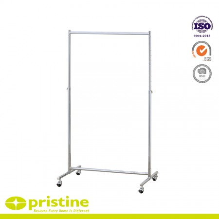 Heavy Duty Rolling Garment Rack - Metal clothes rack