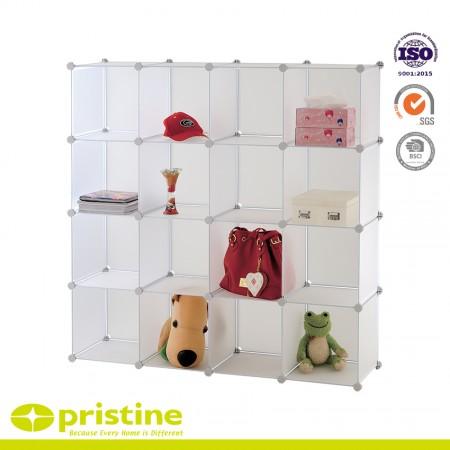DIY Storage Cube Organizer Closet 16-Cube