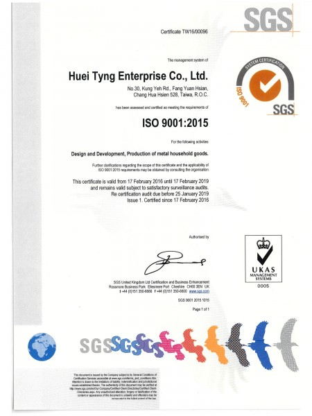 ISO 9001 & SP quality control system help us to make a stable quality for our customer..