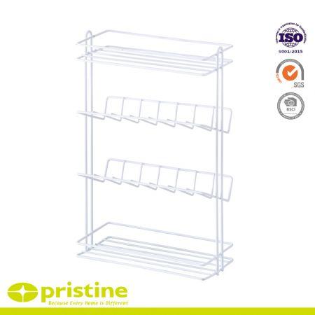 Made in Taiwan 4 tier kitchen storage wire rack